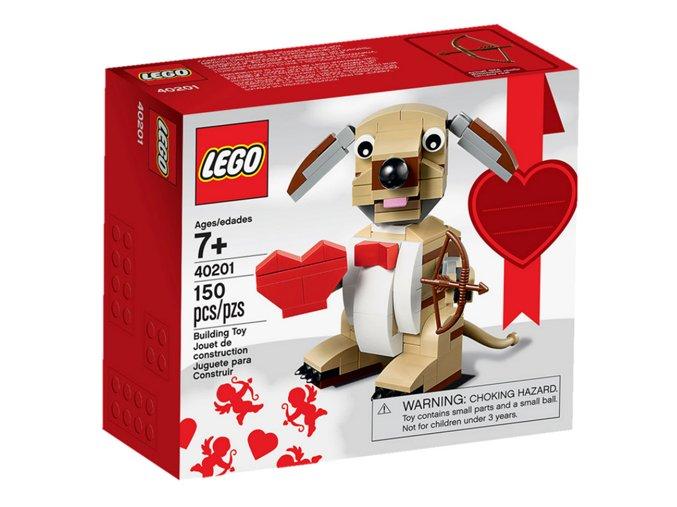 LEGO 40201 Valentine's Cupid Dog