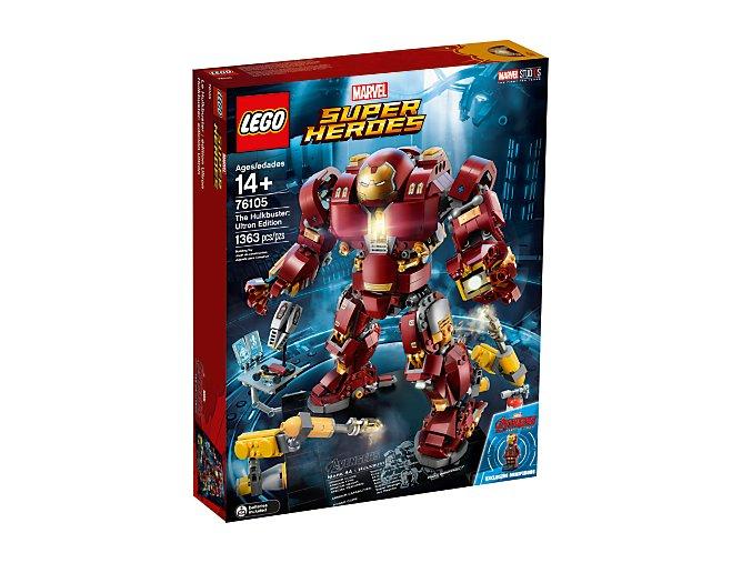 Lego Super Heroes 76105 Hulkbuster: Ultron edice  + volná rodinná vstupenka do Muzea LEGA Tábor v hodnotě 370 Kč