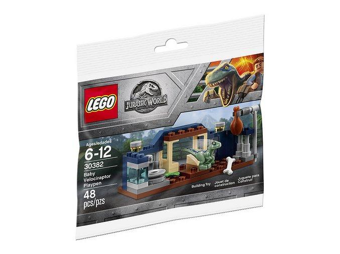 LEGO Jurassic World 30382 Baby Velociraptor Playpen
