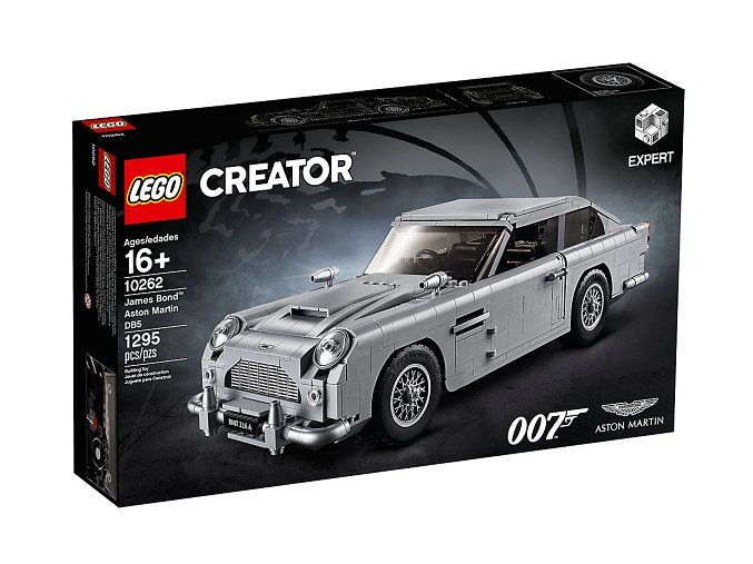 Lego Creator 10262 Bondův Aston Martin DB5  + volná rodinná vstupenka do Muzea LEGA Tábor v hodnotě 370 Kč