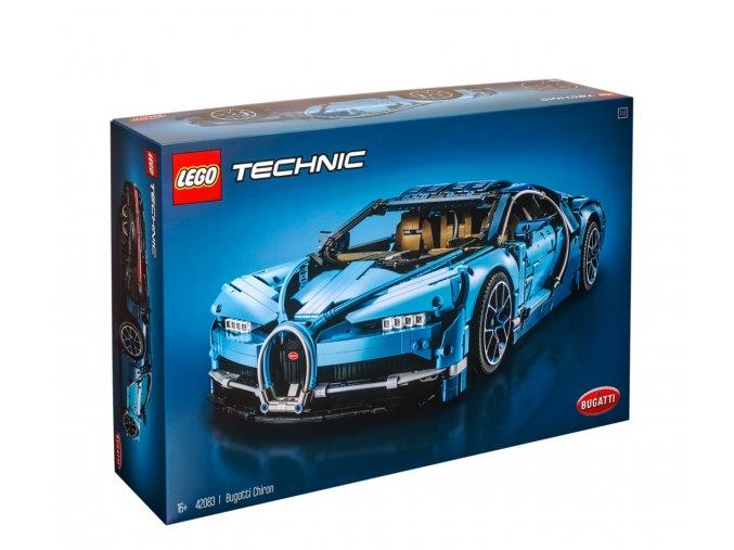 Lego Technic 42083 Bugatti Chiron  + volná rodinná vstupenka do Muzea LEGA Tábor v hodnotě 370 Kč
