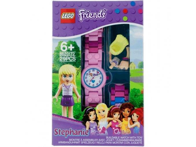 LEGO Friends Stephanie Hodinky s minifigurkou
