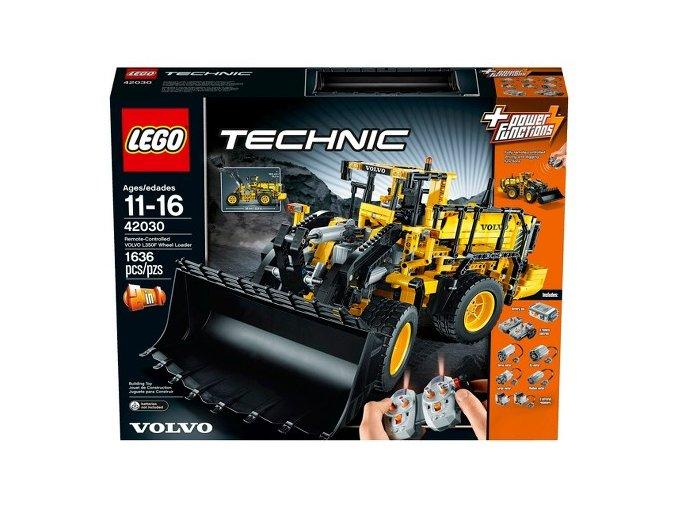 Lego Technic 42030 VOLVO L350F Kolový nakladac na dálkové ovládání  + volná rodinná vstupenka do Muzea LEGA Tábor v hodnotě 370 Kč