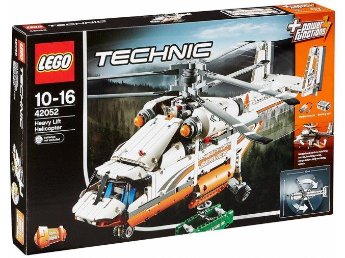 Lego Technic 42052 Helikoptéra na těžké náklady  + volná rodinná vstupenka do Muzea LEGA Tábor v hodnotě 370 Kč