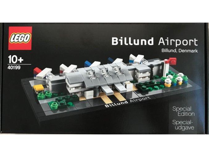 LEGO 40199 Billund Airport  + volná rodinná vstupenka do Muzea LEGA Tábor v hodnotě 370 Kč