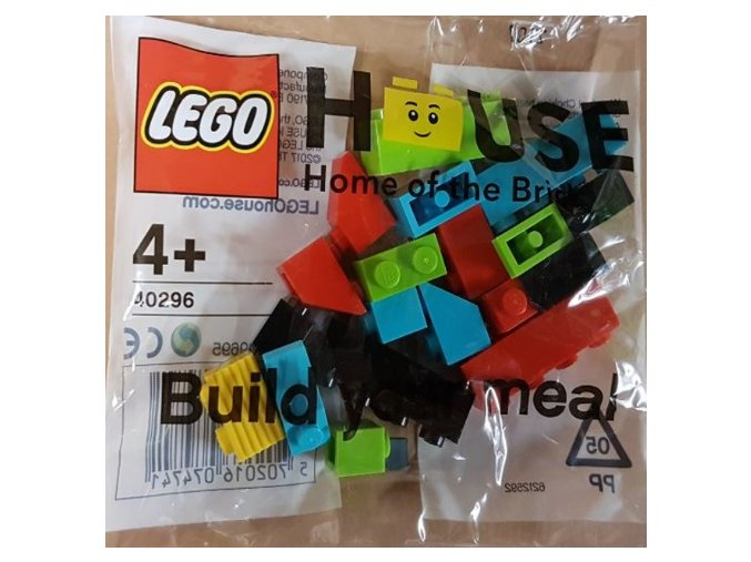 LEGO 40296 LEGO House - Build your meal polybag