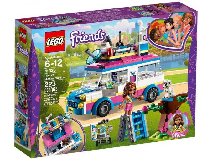 Lego FRIENDS 41333 Olivia a její speciální vozidlo