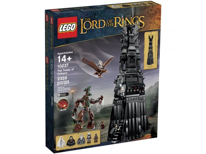 LEGO Lord of the Rings 10237 Tower of Orthanc  + volná rodinná vstupenka do Muzea LEGA Tábor v hodnotě 450 Kč