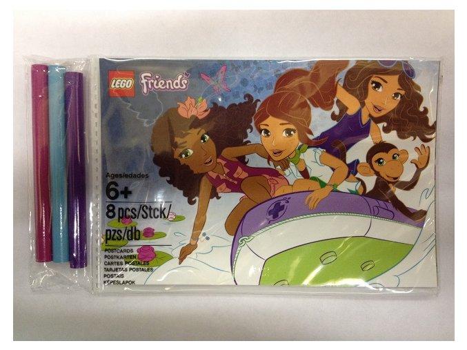Lego Friends 5002131 Set omalovánek s tužkami