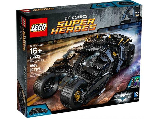 Lego Super Heroes 76023 The Tumbler  + volná rodinná vstupenka do Muzea LEGA Tábor v hodnotě 370 Kč