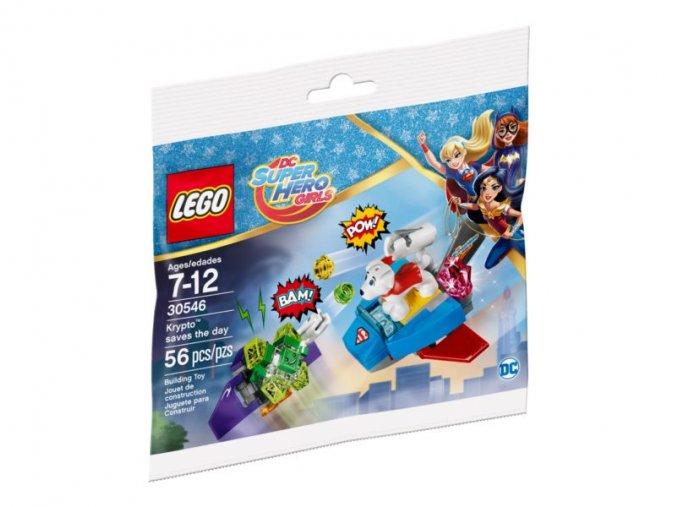 LEGO Super Heroe Girls 30546 Krypto™ zachraňuje situaci