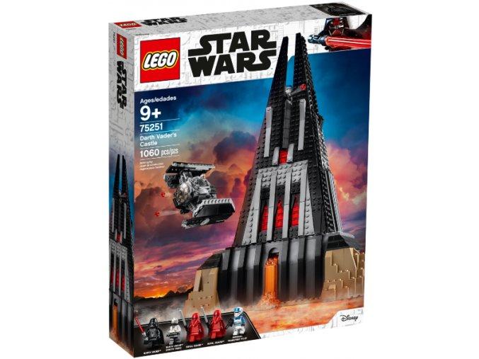 LEGO Star Wars 75251 Hrad Dartha Vadera  + volná rodinná vstupenka do Muzea LEGA Tábor v hodnotě 370 Kč