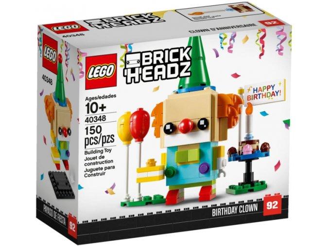 LEGO BrickHeadz 40348 Narozeninový klaun