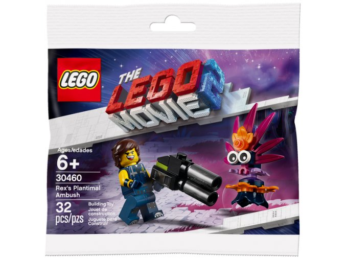 LEGO Movie 30460 Rexova léčka na Faunoflór polybag