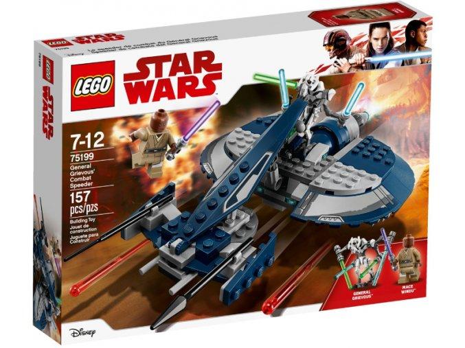 Lego Star Wars 75199 Bojový spídr generála Grievouse