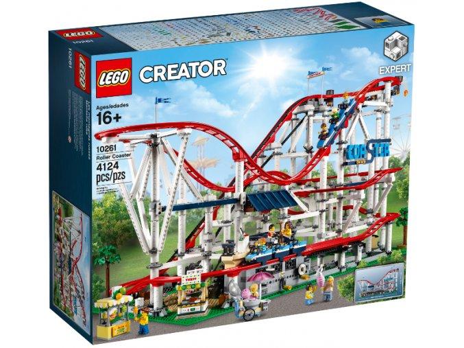 Lego Creator 10261 Horská dráha  + volná rodinná vstupenka do Muzea LEGA Tábor v hodnotě 370 Kč