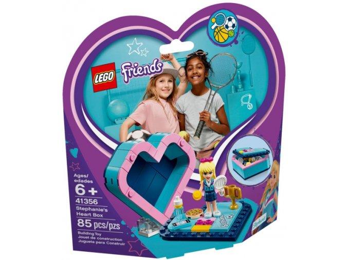 Lego Friends 41356 Stephanina srdcová krabička