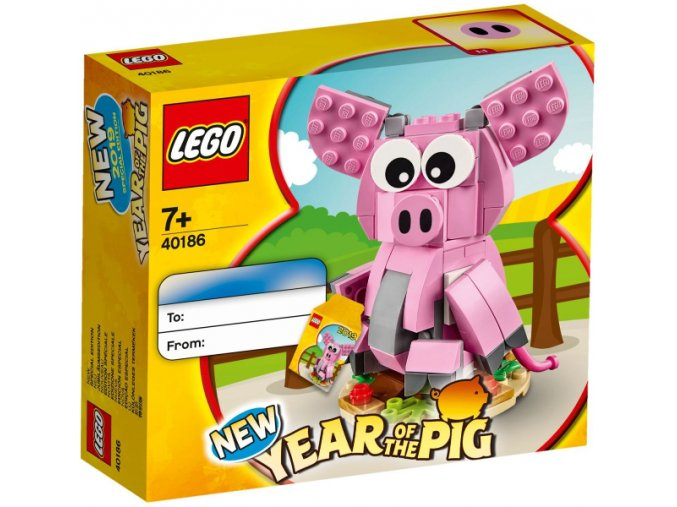 Lego 40186 Year of the Pig (Rok prasete)
