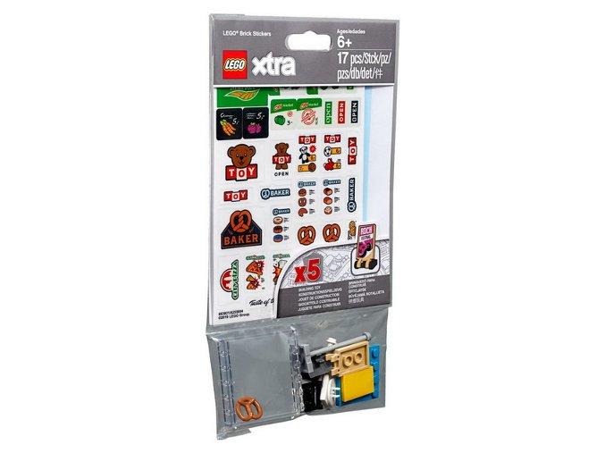 LEGO XTRA 853921 Nálepky na kostky