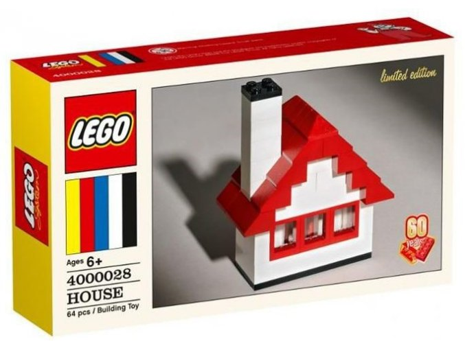 LEGO 4000028 HOUSE (Dům) Limited Edition