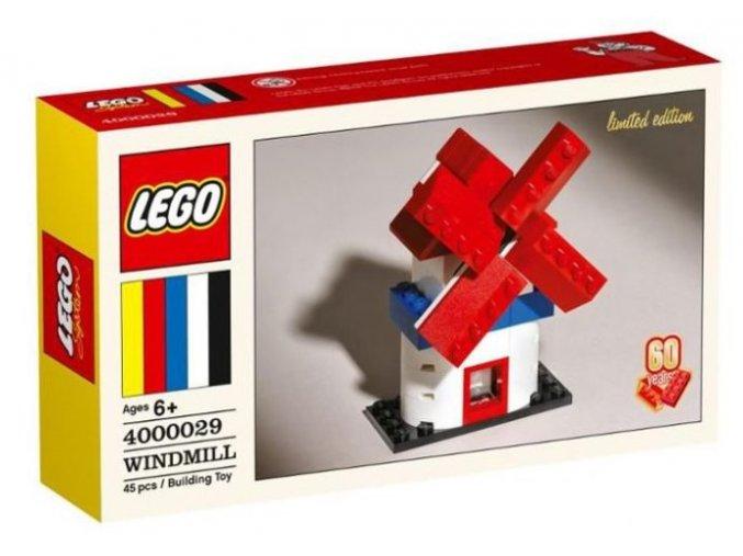 LEGO 4000029 Windmill (Větrný mlýn) Limited Edition