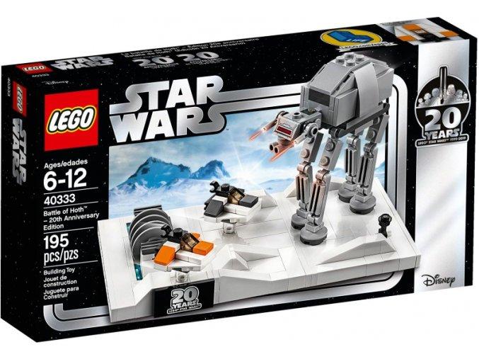 Lego Star Wars 40333 Bitva o planetu Hoth – edice k 20. výročí