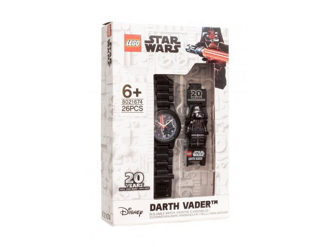 LEGO Star Wars 5005824 Hodinky Darth Vader k 20. výročí