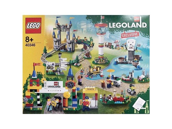 Lego 40346 LEGOLAND Park Exclusive  + volná rodinná vstupenka do Muzea LEGA Tábor v hodnotě 370 Kč