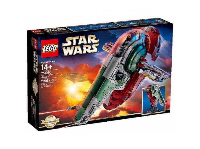 Lego Star Wars 75060 Slave I  + volná rodinná vstupenka do Muzea LEGA Tábor v hodnotě 370 Kč