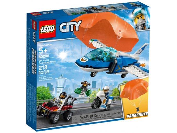 Lego CITY 60208 Zatčení zloděje s padákem