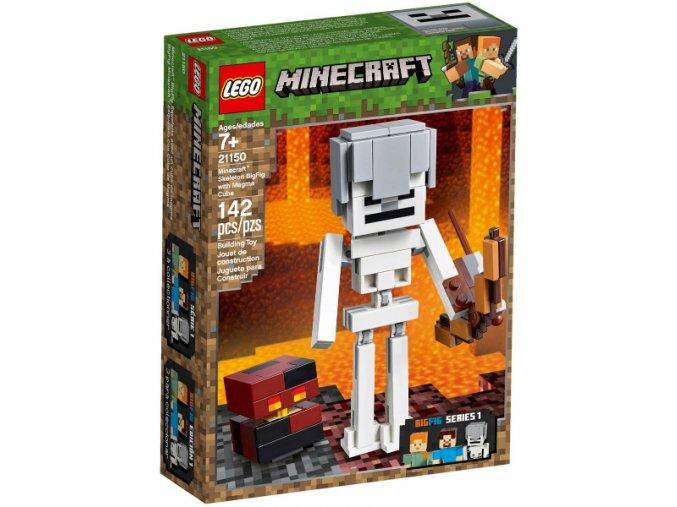Lego Minecraft 21150 Kostlivec s pekelným slizem