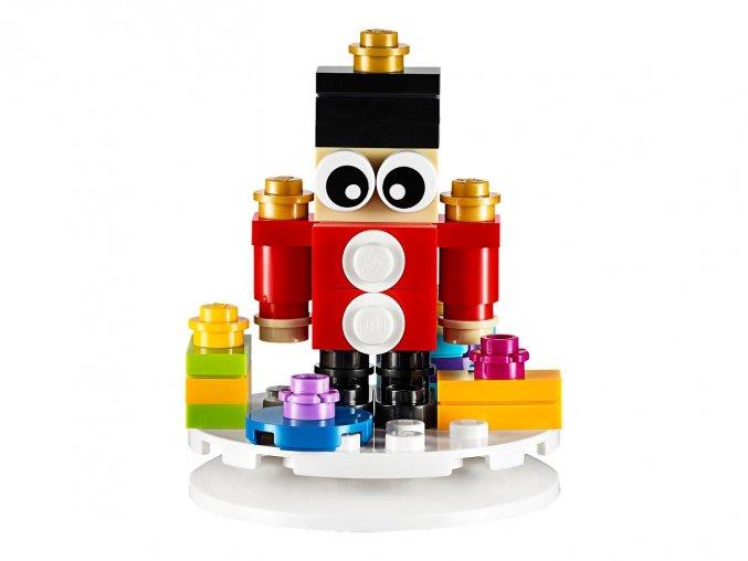 LEGO 853907 Vánoční ozdoba - Vojáček
