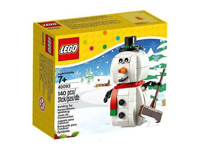 LEGO 40093 Sněhulák (Snowman)