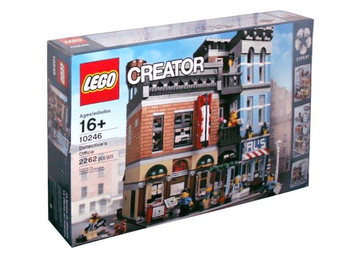LEGO Creator 10246 Detektivní kancelář  + volná rodinná vstupenka do Muzea LEGA Tábor v hodnotě 370 Kč