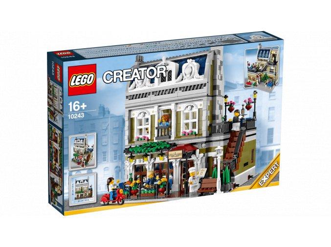 Lego Creator 10243 Parisian Restaurant  + volná rodinná vstupenka do Muzea LEGA Tábor v hodnotě 370 Kč