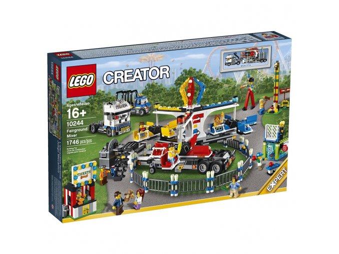 Lego Creator 10244 Fairground Mixer  + volná rodinná vstupenka do Muzea LEGA Tábor v hodnotě 370 Kč
