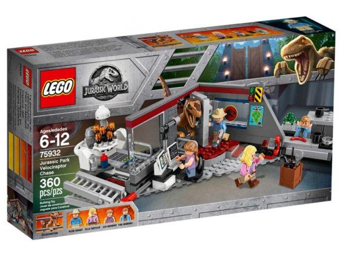 LEGO JURASSIC WORLD 75932 Hon na Velociraptora