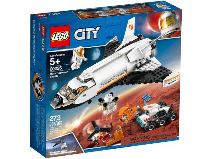 Lego CITY 60226 Raketoplán zkoumající Mars