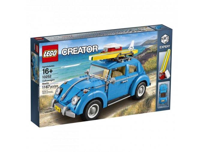 Lego 10252 Creator Volkswagen Beetle  + volná rodinná vstupenka do Muzea LEGA Tábor v hodnotě 370 Kč