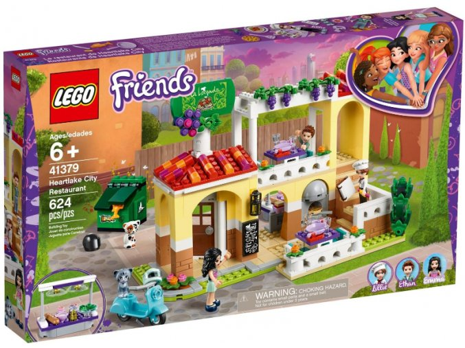 LEGO Friends 41379 Restaurace v městečku Heartlake