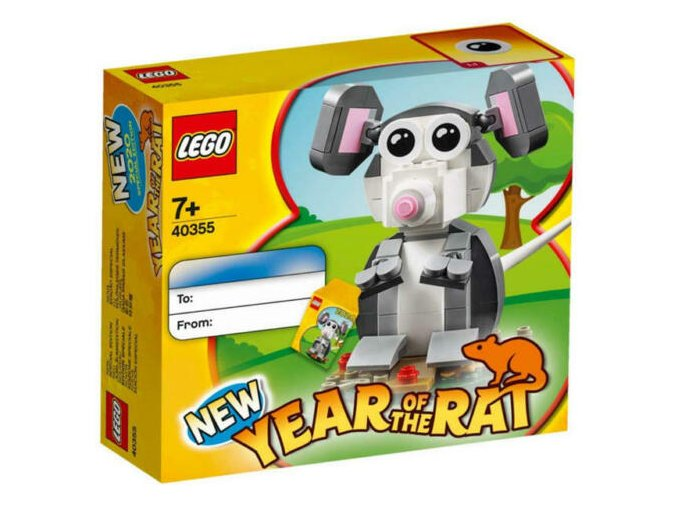 LEGO 40355 Rok krysy (Year of the Rat)