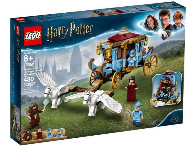 LEGO Harry Potter 75958 Kočár z Krásnohůlek: Příjezd do Bradavic™