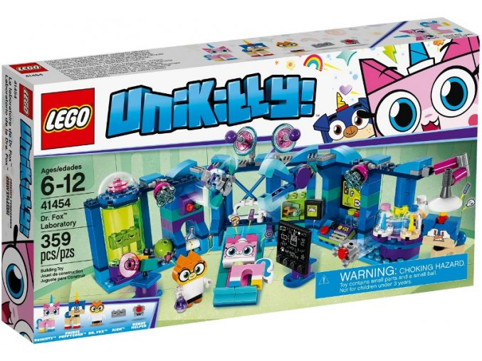 LEGO UNIKITTY! 41454 Laboratoř Dr. Foxové