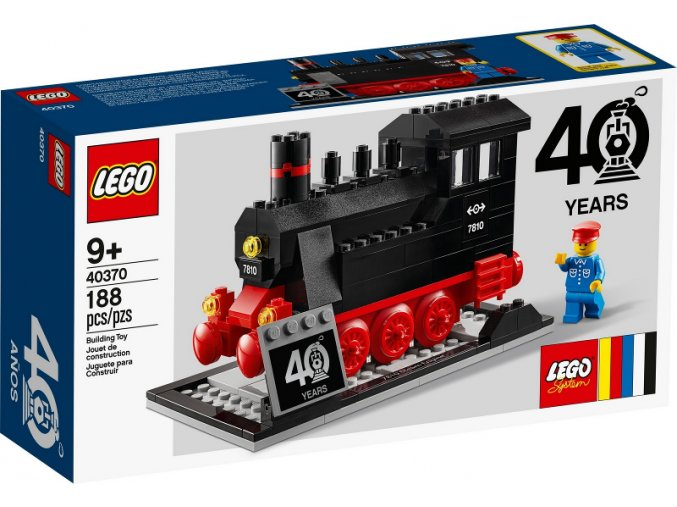 LEGO 40370 Steam Engine - promotional