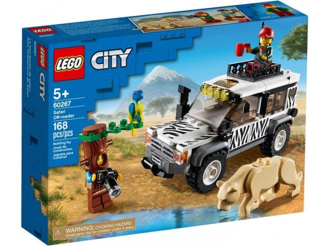LEGO CITY 60267 Teréňák na safari