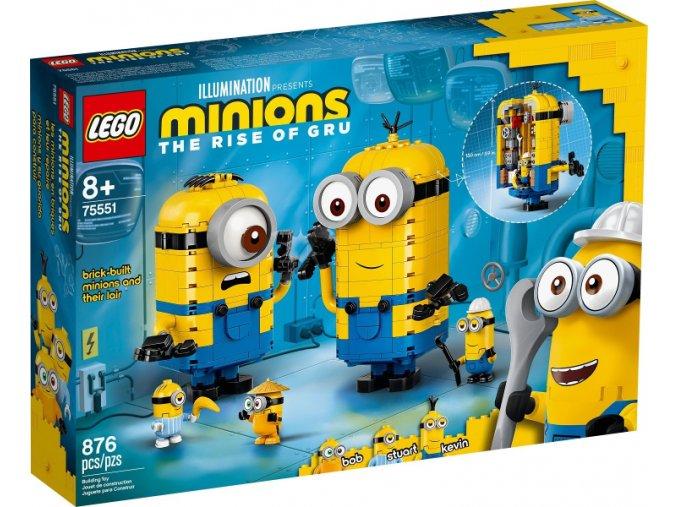LEGO  Minions 75551 Mimoni a jejich doupě