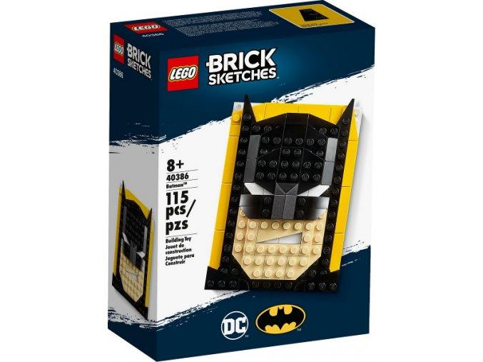 LEGO Brick Sketches™ 40386 Batman™