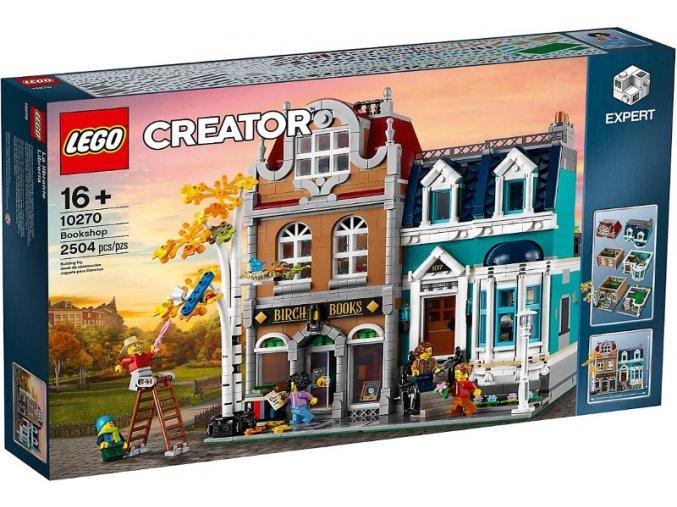 LEGO Creator 10270 Knihkupectví  + volná rodinná vstupenka do Muzea LEGA Tábor v hodnotě 370 Kč