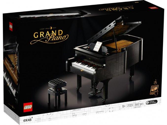 LEGO Ideas 21323 Velké piano  + volná rodinná vstupenka do Muzea LEGA Tábor v hodnotě 370 Kč