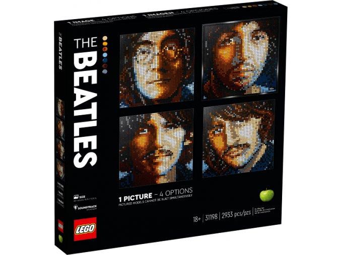 Lego Art 31198 The Beatles  + volná rodinná vstupenka do Muzea LEGA Tábor v hodnotě 370 Kč